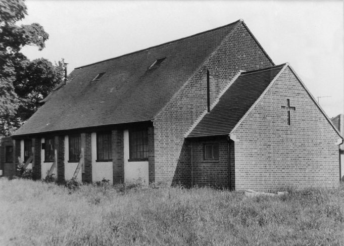 Daughter Church of St Peter's Thundersley 1926 - 1962,  now the site of St George's Church. | Picture courtesy of St George's Church
