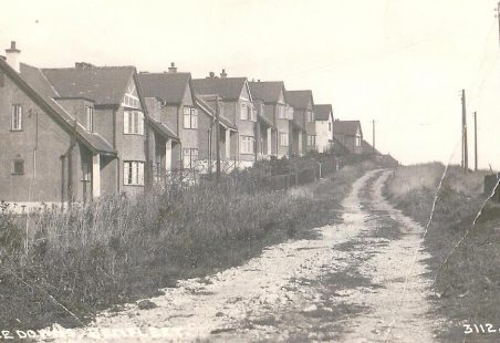 St Mary's Road Benfleet  - 1930's and 2011