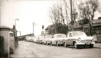 Taxi Cabs 1965 | John Downer collection