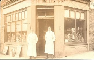 Shop 1: S.Holden circa 1920 | R.F.Postcard