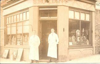 Shop 1: S.Holden circa 1920 | R.F.Postcard