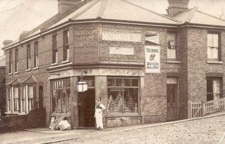 Shop 1: Off-licence | R.F.Postcards