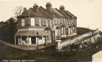 Second Shop: Butchers shop another view | R.F. Postcards
