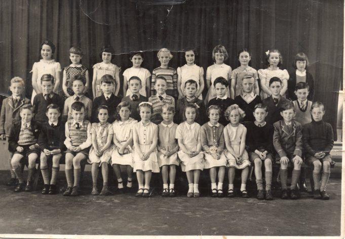 Thundersley Primary School c. 1956 | Carol Powley née Southward