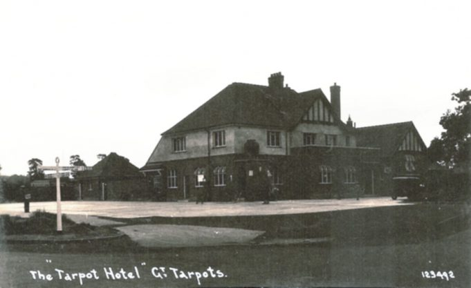 The Tarpot Hotel the date is thought to be late 1930's | R.F. Postcards collection
