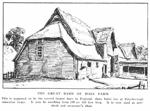 The great tithe barn | The Graphic (1923)