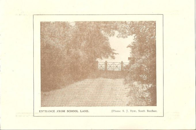 The original gates to The Downs in 1934. | Ian Johnson