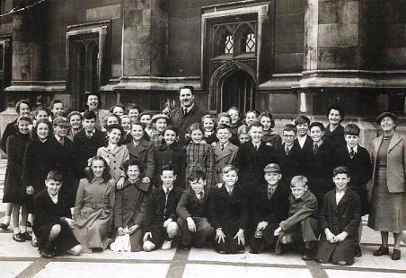 School Trip to The Houses of Parliament early 1950s