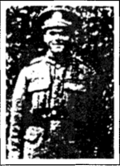 Lance Sergeant Charles Walter Thurtell | Southend Standard 30th May 1918