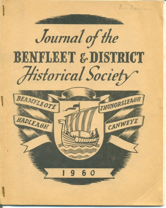 Benfleet & District Historical Society 1955 to 1982
