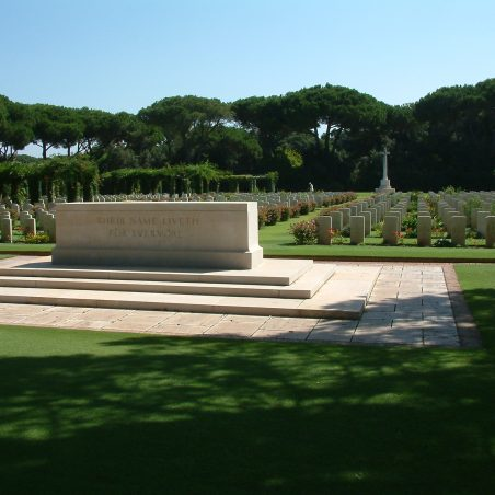 Beach Head War Cemetery.  Italy. | Copyright.  The War Graves Photographic Project.