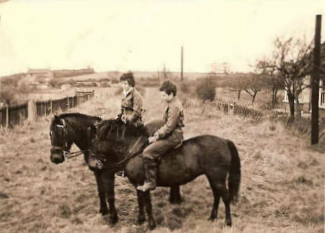 Unknown girls riding down Ullswater Road | Doug Mansfield