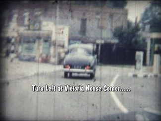 Victoria House Corner before the roundabout was built | Michael Brittain