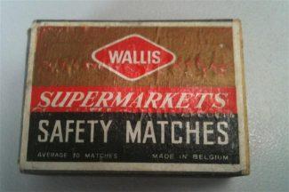 A Wallis matchbox | Lee Morgan