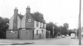 The White Hart Public House. c.1960s