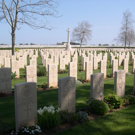 Bari War Cemetery.  Italy. | Copyright.  The War Graves Photographic Project.