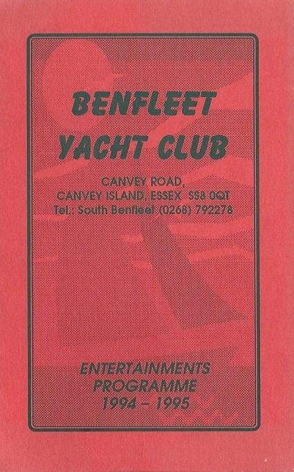 The New Benfleet Yacht Club