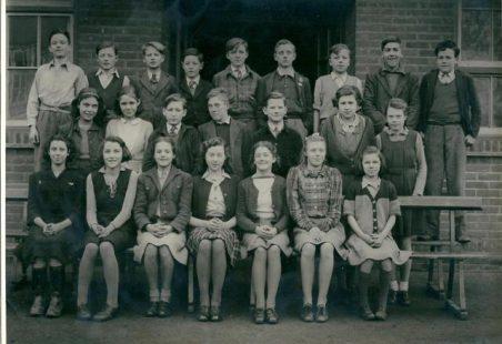 Miss Bass Teaching at Benfleet School 1943 -1947