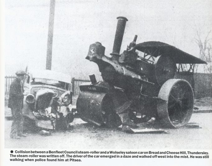 Car and Steam Roller | Echo Newspapers