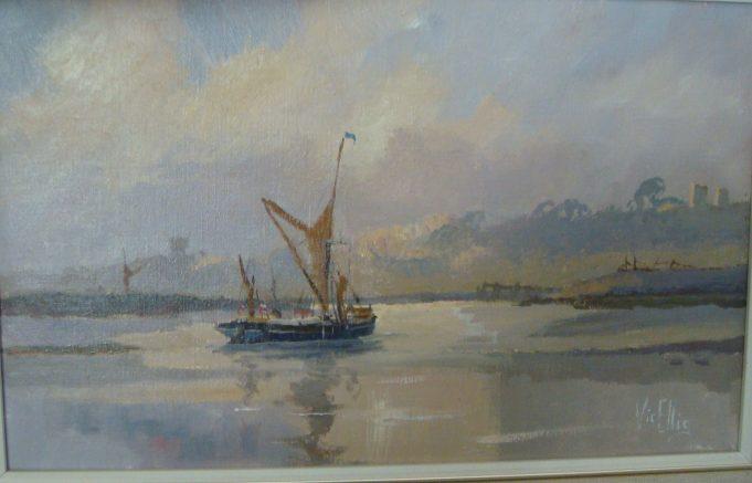 Painting by Vic Ellis