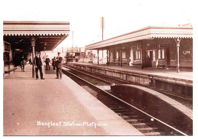 Benfleet Station Platform | Benfleet and District Historical Society