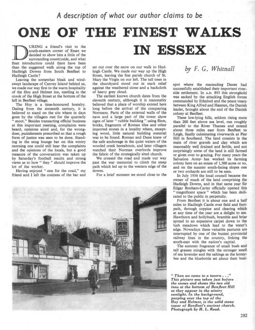 'One of the Finest Walks in Essex'