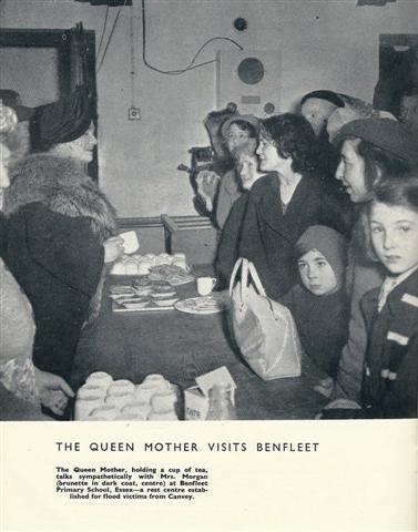 Benfleet School Reception Centre For Flood Victims 1953   Photographs From 'Britains Great Flood Diaster'  Hank Janson, New Fiction Press, London