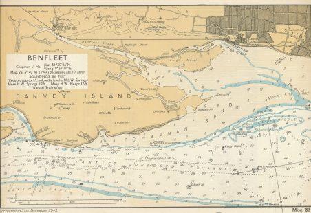 Admiralty chart 1943