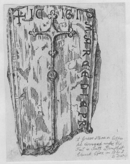 Coffin lid