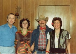 Pictures from the International Fancy Dress Dances.George and Myrtle Essery, South Africa,  Brian and Maureen Higgs. Texas. | Myrtle Essery