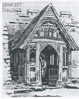 The fifteenth century porch