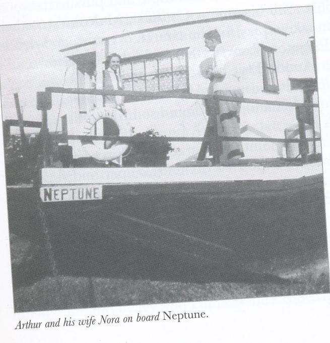 Hugh Falkus's home in the 1920s/1930s