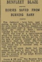 Report in the Essex Weeklky News January 13  1939