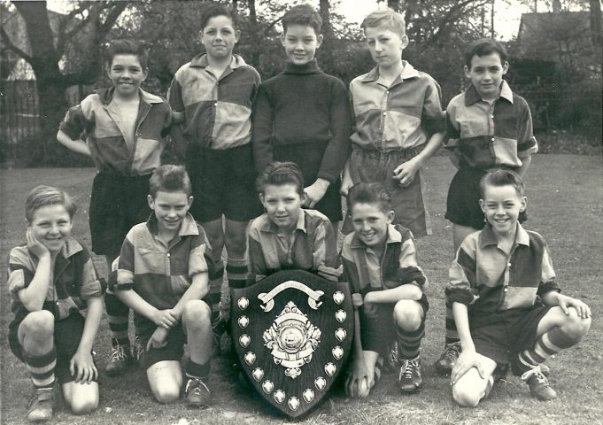 Benfleet County Junior School XI, approx 1960's | Mrs Williams ( Nee Bass sports teacher at Benfleet school)