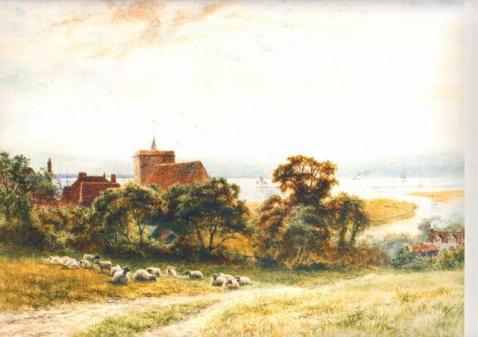 Unusual view of Benfleet
