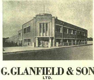 Glanfields Factory | B.U.D.C booklet dated 1953