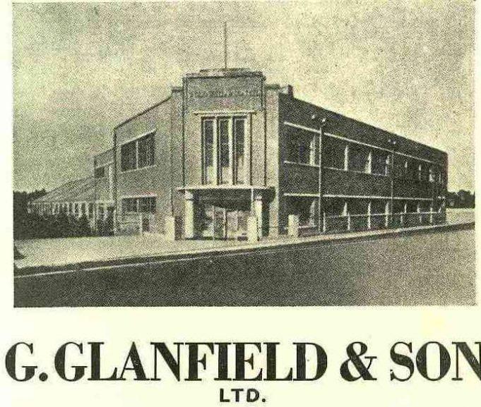 Glanfields Factory | B.U.D.C booklet dated 1953