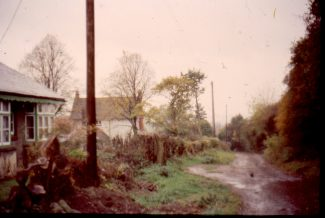 'Lyndhurst' and in the distance 'Aldecar' taken in the mid 1960s   Harry Emery