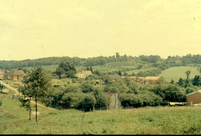 Southwell Road from Hill Road, probably early 1960s   Harry Emery