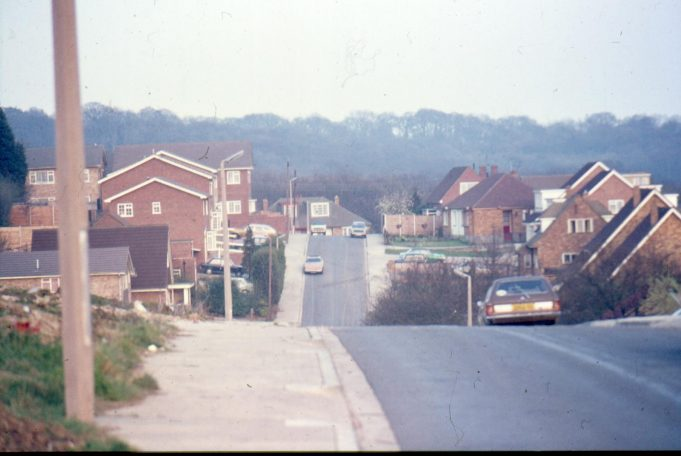 Southwell Road from Hill Road, probably 1970s | Harry Emery