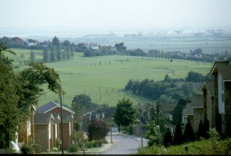 Photo taken from Hill Road/Southwell Road in the late 1970s. | Harry Emery