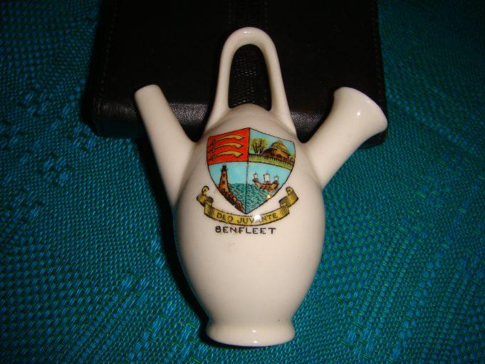 Goss-style ewer souvenir