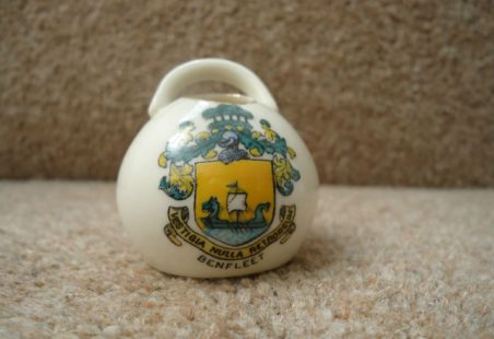 Goss China Salt Pot