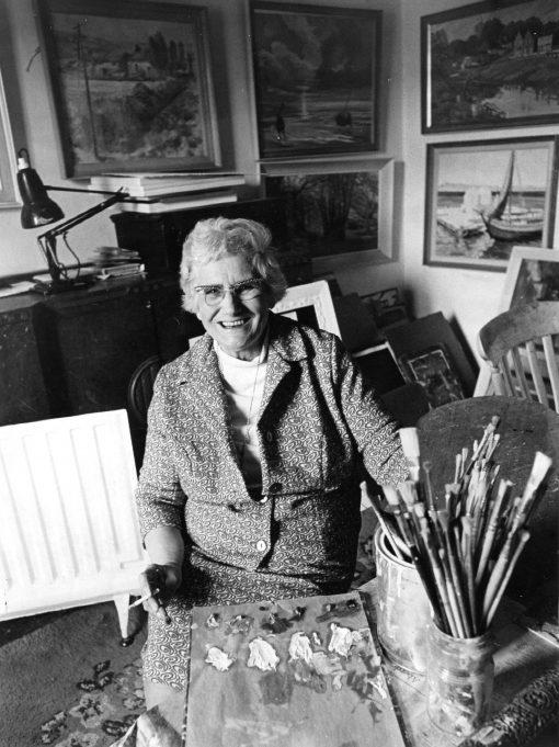 Marjorie Hayklan, artist | Echo News