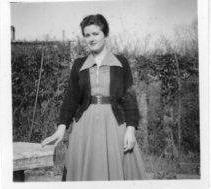 A photo of me, Betty Light,  taken around 1952 just before my 16th birthday. | Betty Turpin nee Light