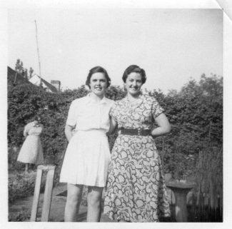 Faye Letts and Betty Light | Betty Turpin nee Light