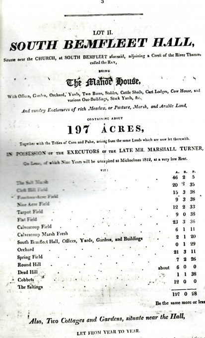 Sale poster page 2, 1812