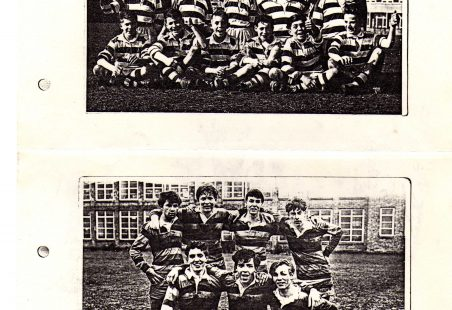 King John School Rugby Teams - late 50s early 60s