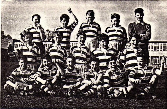King John Junior Rugby Team from 1958/59 | Roger taylor collection