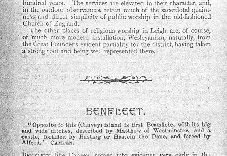 Benfleet in 1905